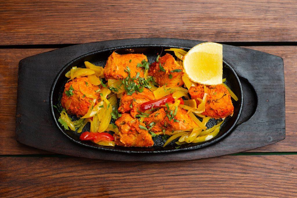 tandoori, chicken tikka, indian food